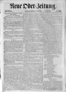 Neue Oder-Zeitung, 1850, No 216. - Abendblatt