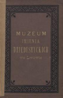 Muzeum imienia Dzieduszyckich we Lwowie