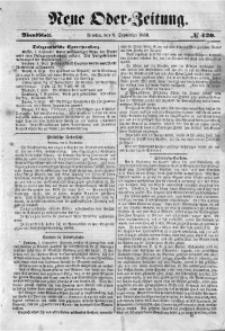 Neue Oder-Zeitung, 1850, No 420. - Abendblatt