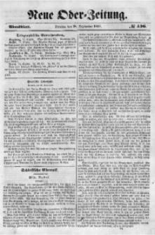 Neue Oder-Zeitung, 1850, No 436. - Abendblatt