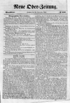 Neue Oder-Zeitung, 1850, No 552. - Abendblatt