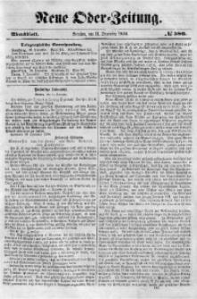 Neue Oder-Zeitung, 1850, No 580. - Abendblatt