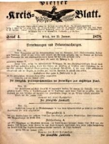 Plesser Kreis-Blatt, 1878, St. 4