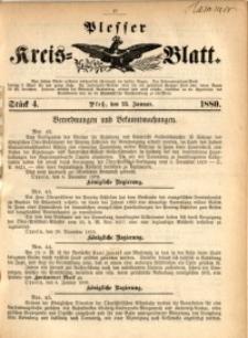 Plesser Kreis-Blatt, 1880, St. 4