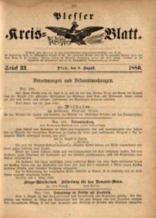 Plesser Kreis-Blatt, 1880, St. 32