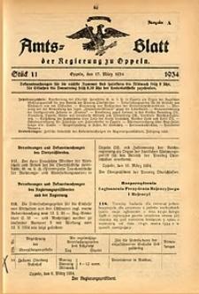 Amts-Blatt der Regierung zu Oppeln für 1934, Bd. 119, St. 11