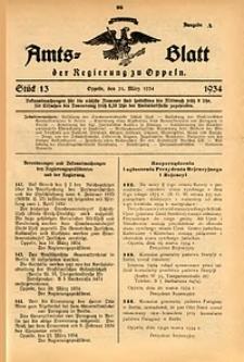 Amts-Blatt der Regierung zu Oppeln für 1934, Bd. 119, St. 13