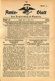 Amts-Blatt der Regierung zu Oppeln für 1934, Bd. 119, St. 15