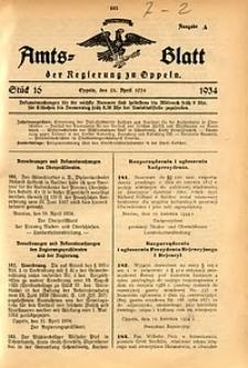 Amts-Blatt der Regierung zu Oppeln für 1934, Bd. 119, St. 16