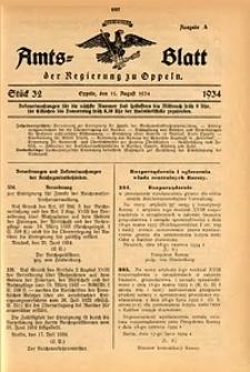 Amts-Blatt der Regierung zu Oppeln für 1934, Bd. 119, St. 32