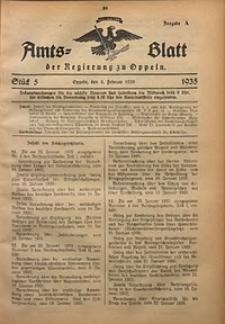 Amts-Blatt der Regierung zu Oppeln für 1935, Bd. 120, St. 5