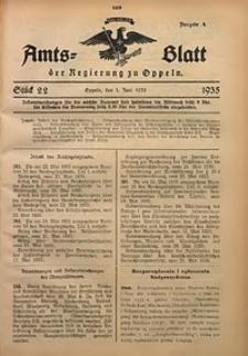 Amts-Blatt der Regierung zu Oppeln für 1935, Bd. 120, St. 22