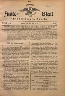 Amts-Blatt der Regierung zu Oppeln für 1935, Bd. 120, St. 29