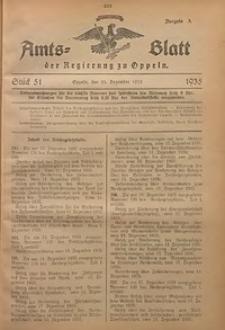 Amts-Blatt der Regierung zu Oppeln für 1935, Bd. 120, St. 51