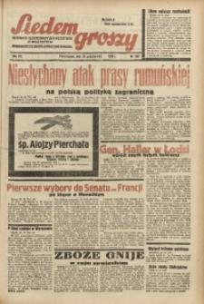 Siedem Groszy, 1938, R. 7, nr 292