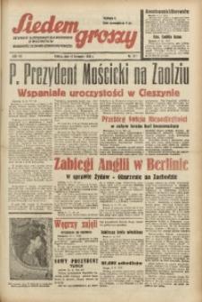 Siedem Groszy, 1938, R. 7, nr 311