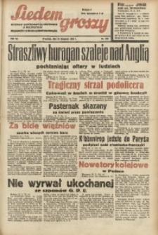 Siedem Groszy, 1938, R. 7, nr 323