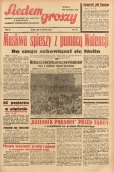Siedem Groszy, 1937, R. 6, nr 227