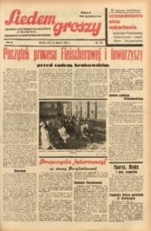 Siedem Groszy, 1937, R. 6, nr 233