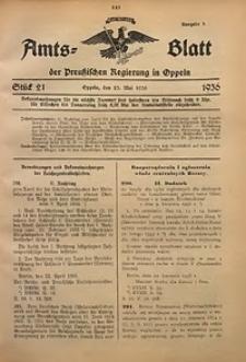 Amts-Blatt der Preußischen Regierung in Oppeln für 1936, Bd. 121, St. 21