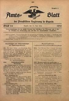 Amts-Blatt der Preußischen Regierung in Oppeln für 1936, Bd. 121, St. 24
