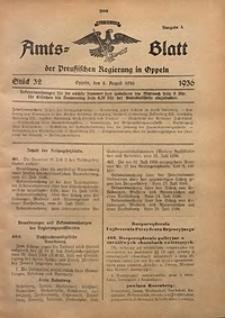 Amts-Blatt der Preußischen Regierung in Oppeln für 1936, Bd. 121, St. 32