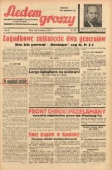 Siedem Groszy, 1937, R. 6, nr 264