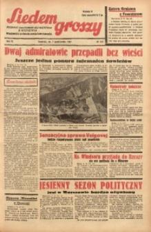 Siedem Groszy, 1937, R. 6, nr 277