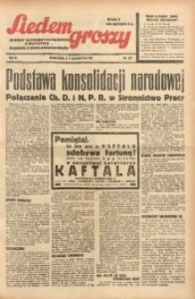 Siedem Groszy, 1937, R. 6, nr 281