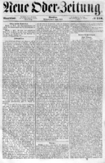 Neue Oder-Zeitung, 1853, No 158