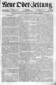 Neue Oder-Zeitung, 1853, No 181