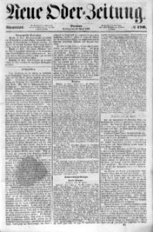 Neue Oder-Zeitung, 1853, No 190