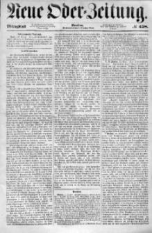 Neue Oder-Zeitung, 1853, No 458