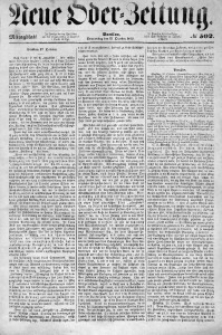 Neue Oder-Zeitung, 1853, No 502