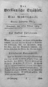 Der Breslauische Erzähler, 1803, Jg. 4, No. 9