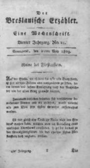 Der Breslauische Erzähler, 1803, Jg. 4, No. 21