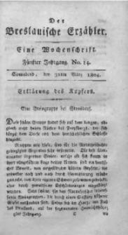 Der Breslauische Erzähler, 1804, Jg. 5, No. 14
