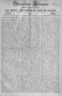 Ostdeutsches Athenäum, 1855, No 1