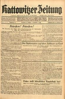 Kattowitzer Zeitung, 1938, Jg. 70, Nr. 8
