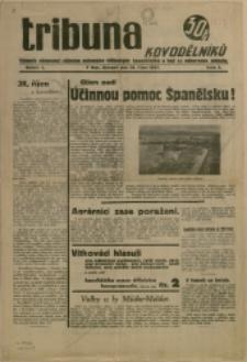 Tribuna kovodělníků, 1937, Nr 3