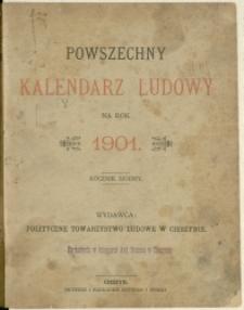 Powszechny Kalendarz Ludowy na Rok 1901