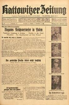 Kattowitzer Zeitung, 1938, Jg. 70, Nr. 29