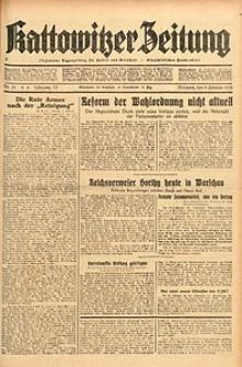 Kattowitzer Zeitung, 1938, Jg. 70, Nr. 31