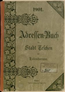 Adressen-Buch der Stadt Teschen, 1901