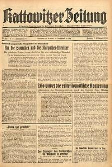 Kattowitzer Zeitung, 1938, Jg. 70, Nr. 257