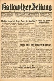 Kattowitzer Zeitung, 1938, Jg. 70, Nr. 278