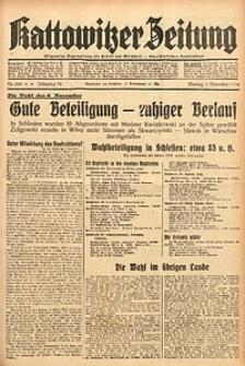 Kattowitzer Zeitung, 1938, Jg. 70, Nr. 288