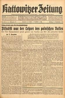 Kattowitzer Zeitung, 1938, Jg. 70, Nr. 292