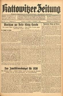 Kattowitzer Zeitung, 1938, Jg. 70, Nr. 297