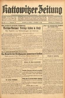 Kattowitzer Zeitung, 1938, Jg. 70, Nr. 309